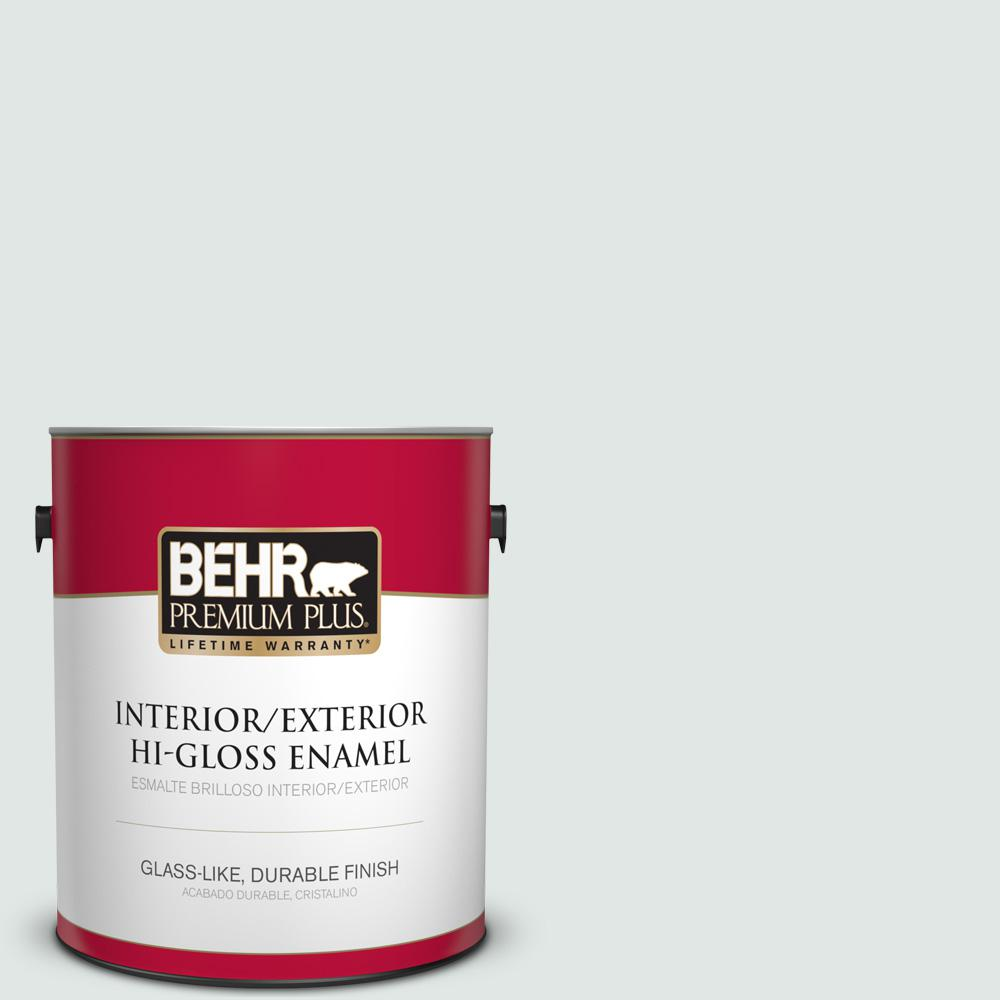 1 gal. #PPU13-17 Fresh Day Hi-Gloss Enamel Interior/Exterior Paint