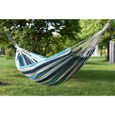 13 ft. Brazilian Sunbrella Double Hammock without stand in Token Surfside