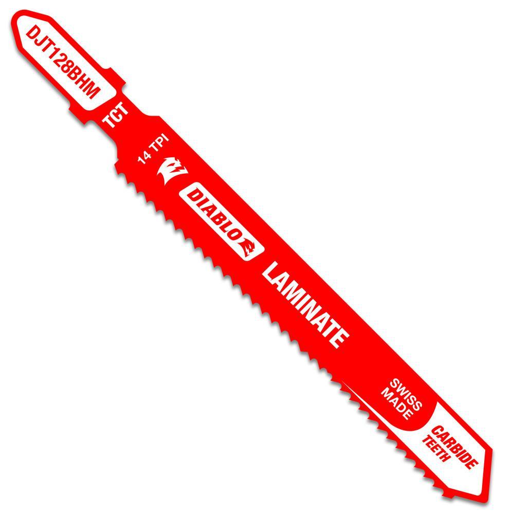 3-5/8 in. Carbide Teeth Laminate Cutting Jigsaw Blade