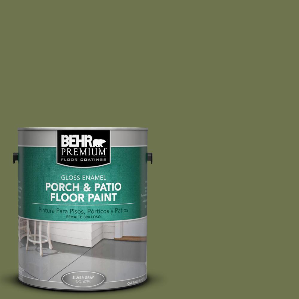 Behr Premium 1 Gal S360 6 Secret Meadow Gloss Porch And