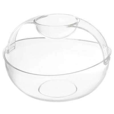 2-Piece Chip and Dip Appetizer Serving Bowl Set