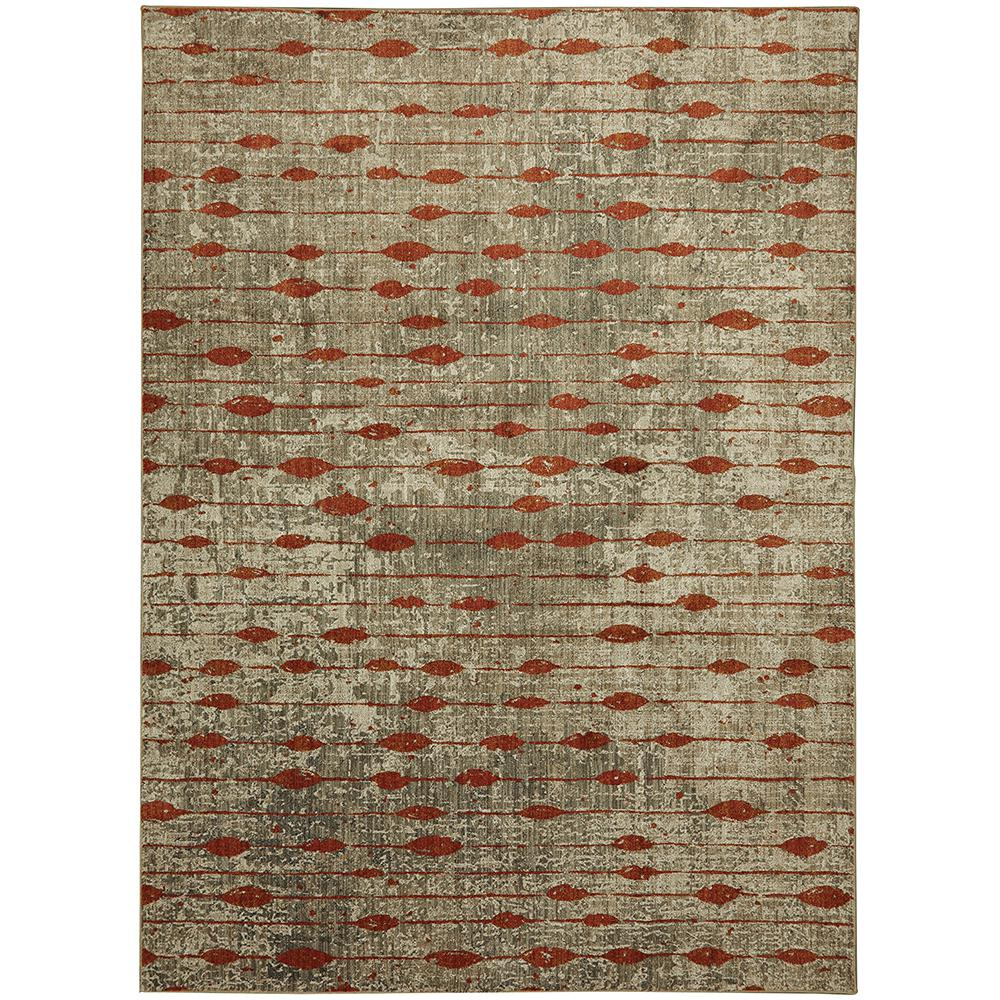 Mohawk Home Gianni Ginger by Virginia Langley 8 ft. x 11 ft. Indoor Area Rug, Red was $460.75 now $276.45 (40.0% off)
