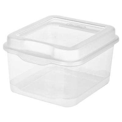 2.5 -Qt. Flip-Top Box