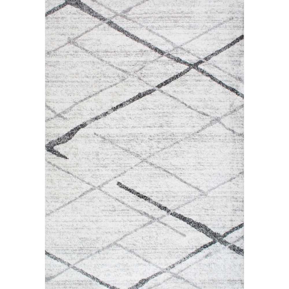 Thigpen Grey 9 ft. x 12 ft. Area Rug