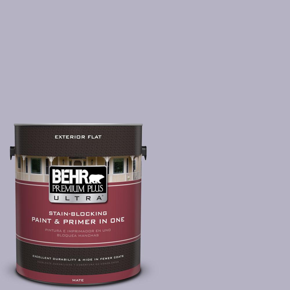 BEHR Premium Plus Ultra 1-gal. #640F-4 Fading Sunset Flat Exterior Paint