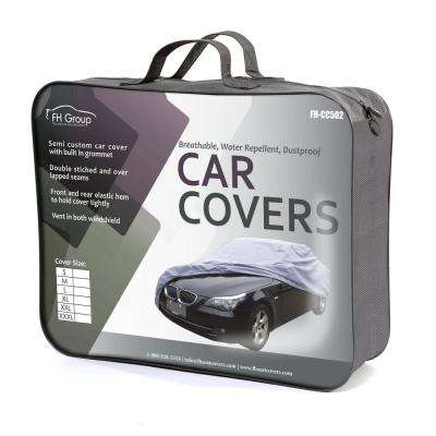Supreme Water Resistant 161 in. x 50 in. x 46 in. Small Exterior Sedan Car Cover