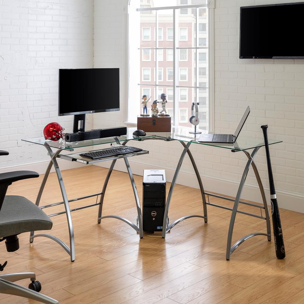 Pleasing Walker Edison Furniture Company 51 In Modern Corner Glass Interior Design Ideas Gentotryabchikinfo