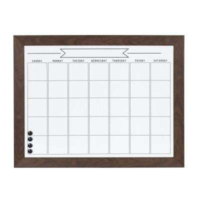 Beatrice Monthly Dry Erase Calendar Memo Board