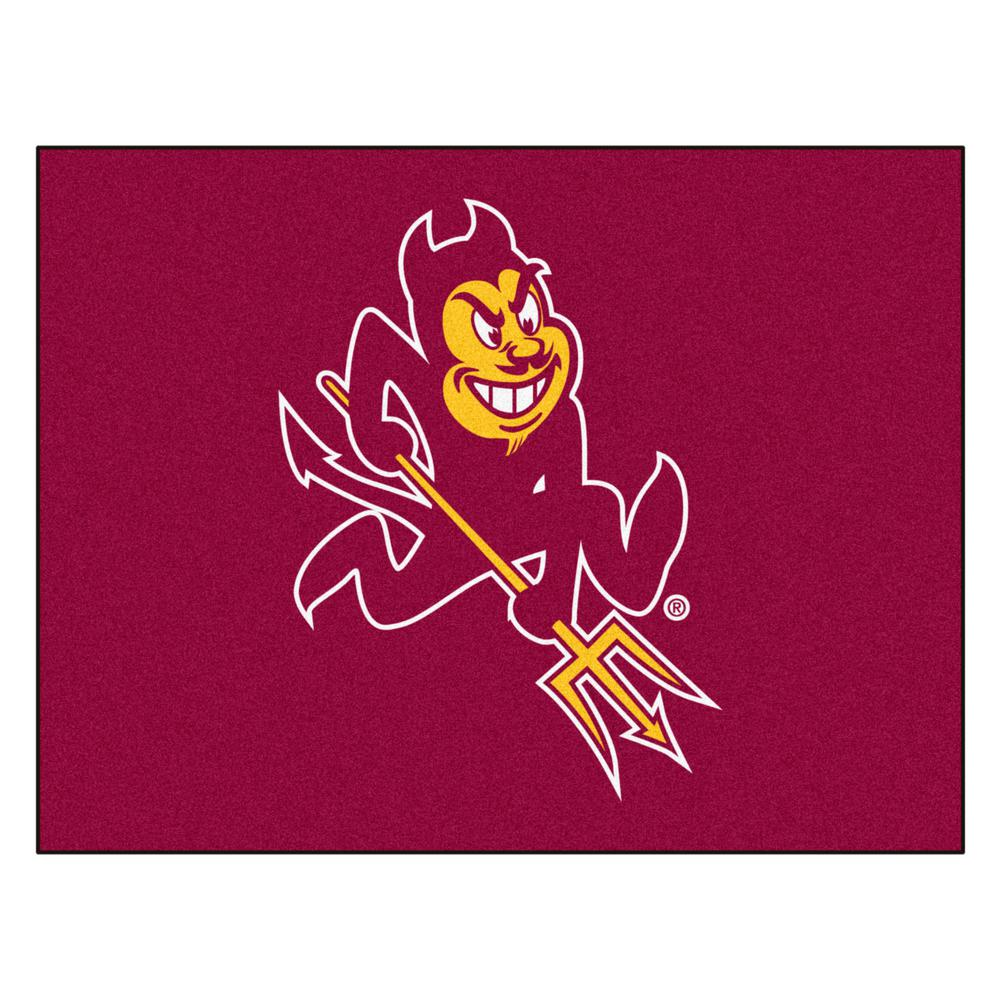 Fanmats Arizona State University 3 Ft X 4 Ft All Star Rug 1400