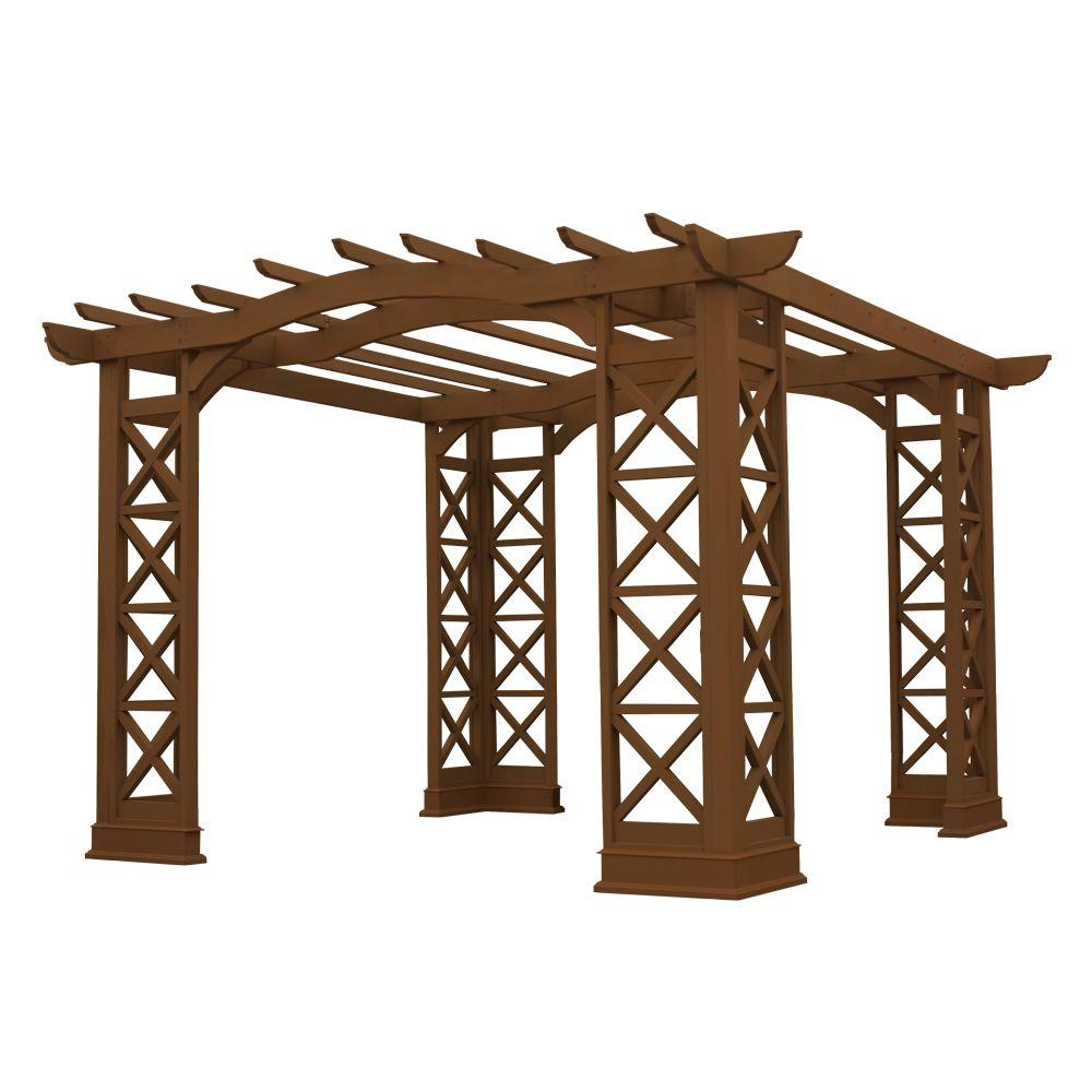 Yardistry Preston 12 ft. x 12 ft. Pergola