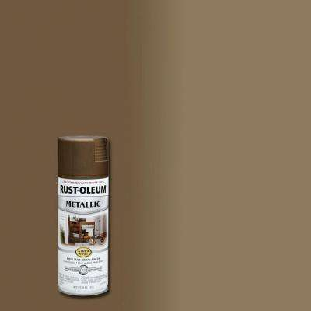 11 oz. Metallic Antique Brass Protective Spray Paint