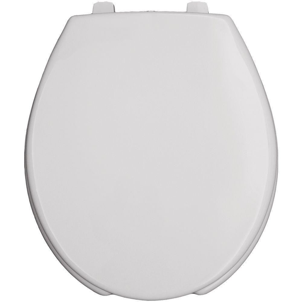 Church Round Open Front Toilet Seat in White