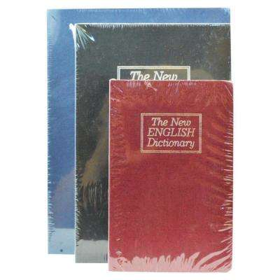 New English Dictionary Book Safe (3-Pack)