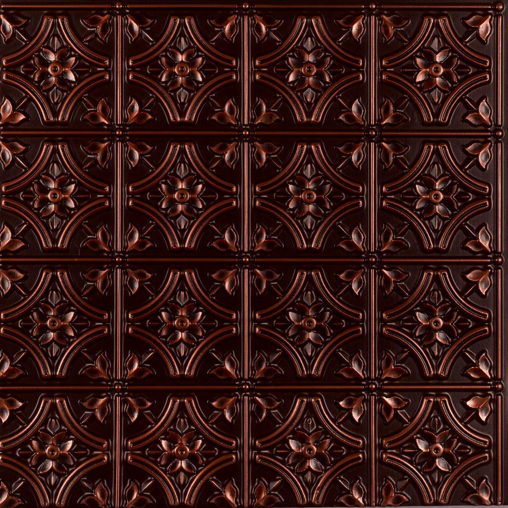 Gothic Reims 2 ft. x 2 ft. Glue-up Ceiling Tile in