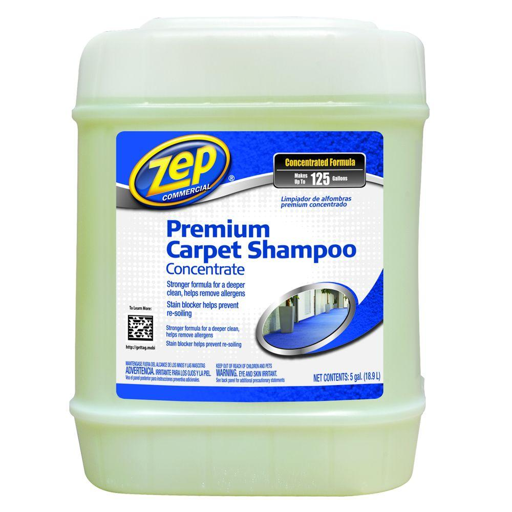 Zep 640 Oz Premium Carpet Shampoo Carpet Cleaner Zupxc5g