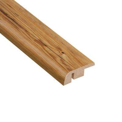 Mission Pine 1/2 in. Thick x 1-1/4 in. Wide x 94 in. Length Laminate Carpet Reducer Molding