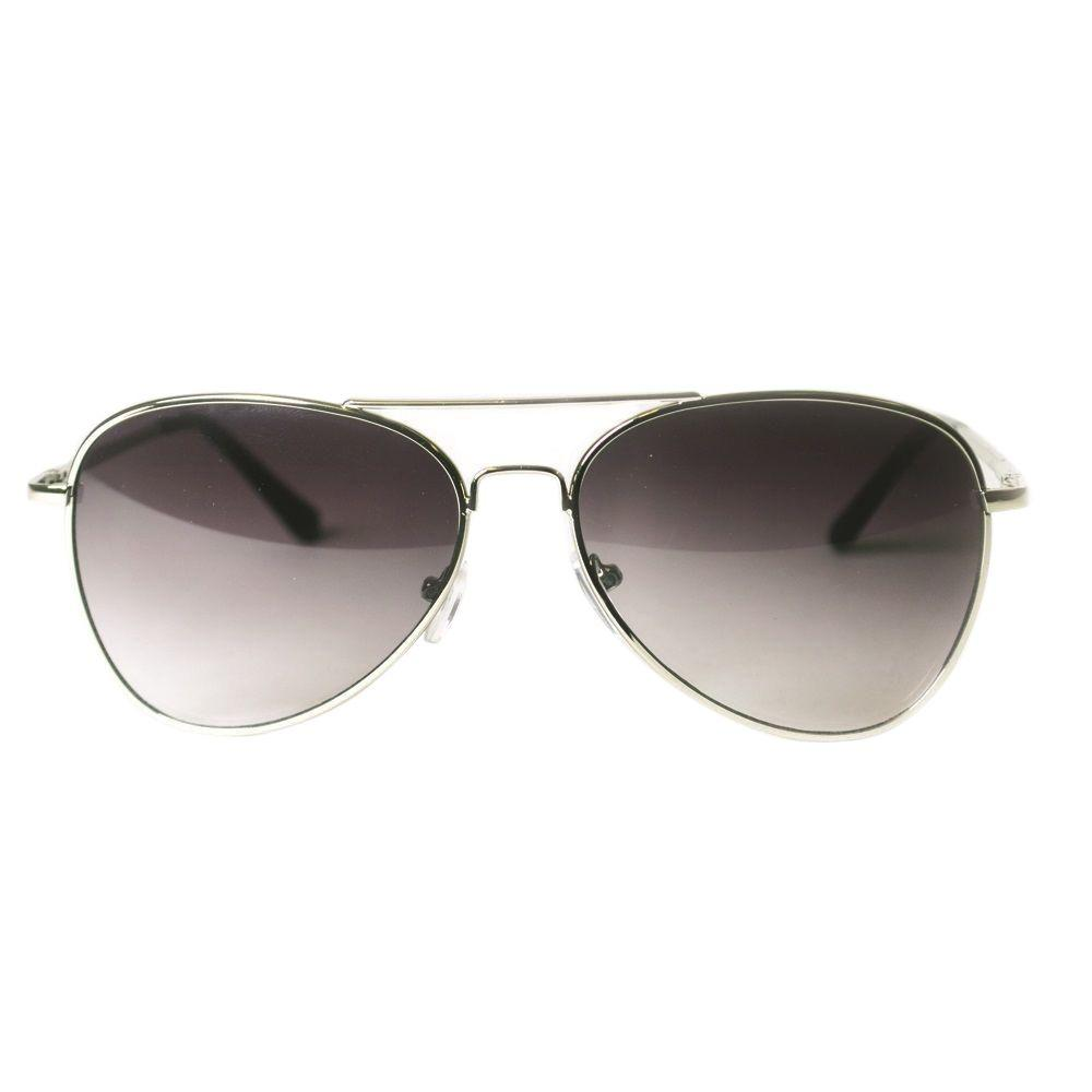 76c515f25c Shadedeye Silver Aviator Sunglasses-85902-16 - The Home Depot