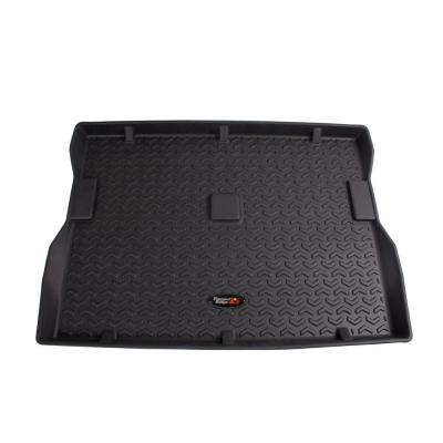 Cargo Liner Black 76-86 Jeep CJ7 81-86 CJ8 and 87-95 Wrangler YJ