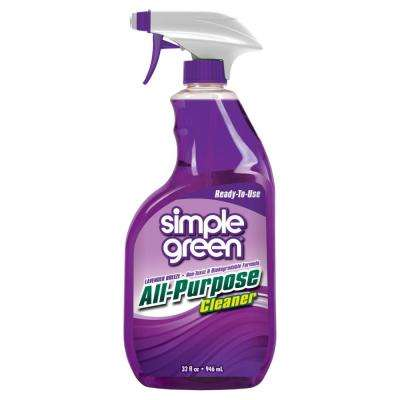 32 oz. Lavender Breeze Scent Ready-To-Use All-Purpose Cleaner (Case of 12)