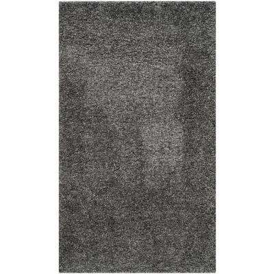 California Dark Gray 4 Ft X 6 Area Rug