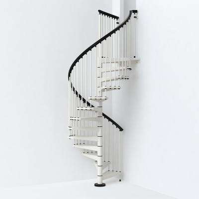 SKY030 55 in. White Spiral Staircase Kit