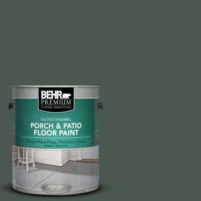 1 gal. #N420-7 Alpine Trail Gloss Porch and Patio Floor Paint