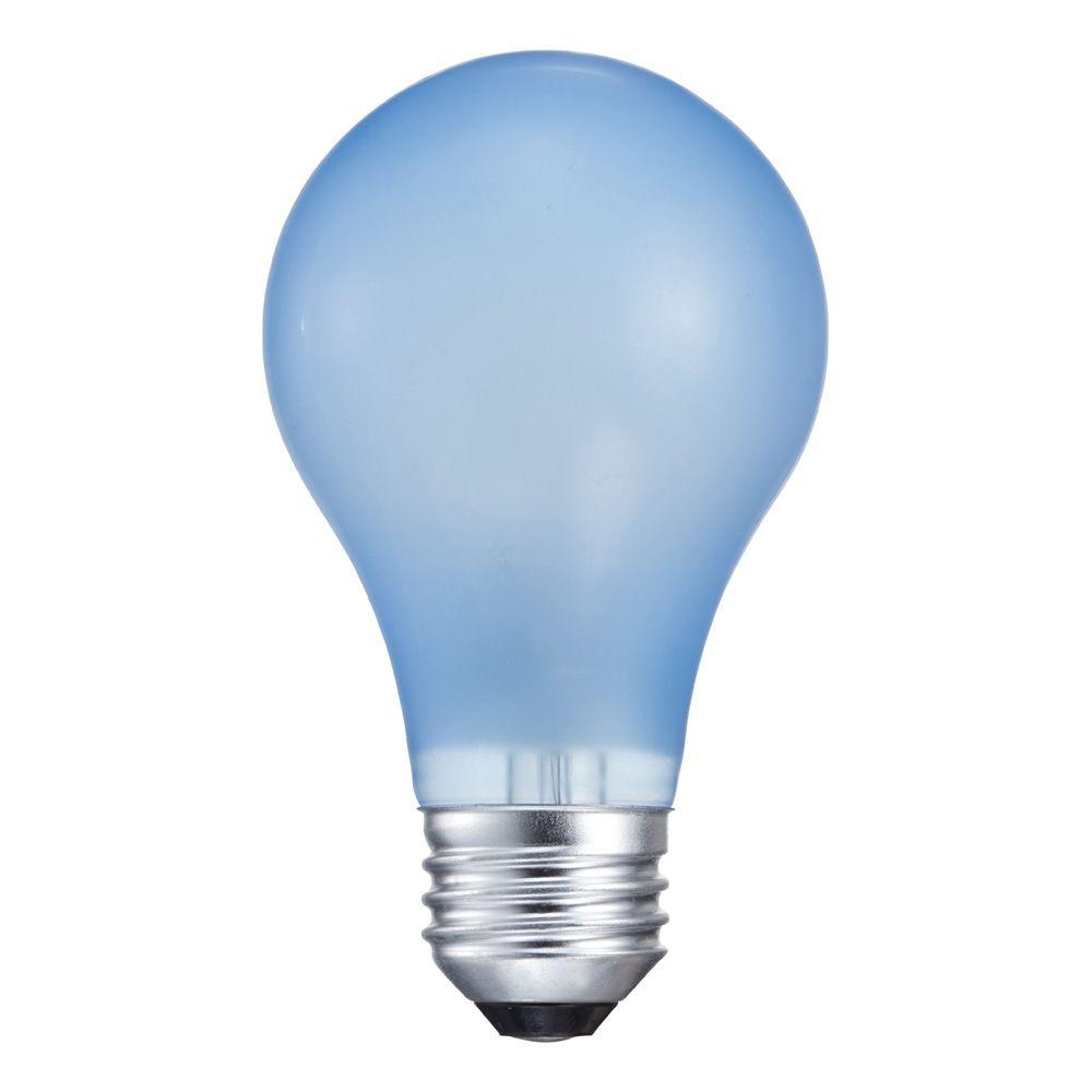 Philips 60 watt incandescent a19 agro plant light bulb 429480 the home depot A light bulb