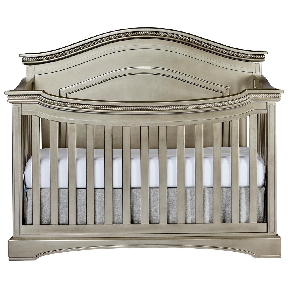 Evolur Antique Bronze Curve Top Convertible Crib Adora