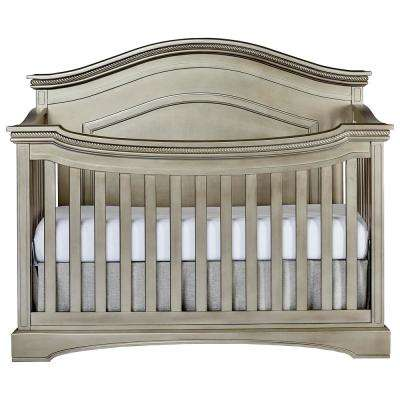 Adora Antique Bronze Curve Top Convertible Crib