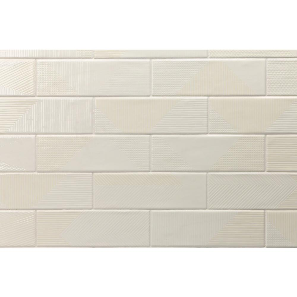 - Ivy Hill Tile Ace Ivory 2 In. X 8 In. X 9mm Polished Ceramic