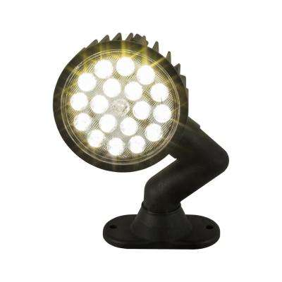 18-Clear LED 5 in. Round Spot Light