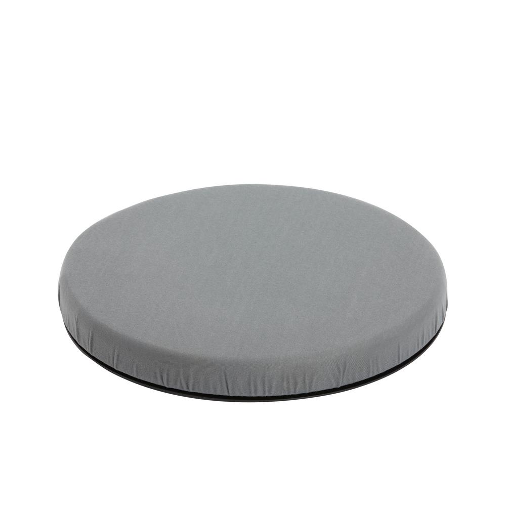 Deluxe Swivel Seat Cushion in Gray