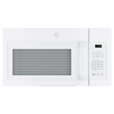 31 in. 1.6 cu. ft. Over the Range Microwave in White