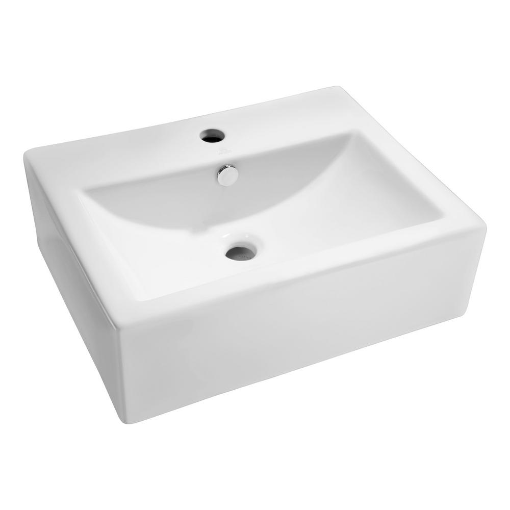 ANZZI Vitruvius Series Ceramic Vessel Sink in White was $159.99 now $119.99 (25.0% off)