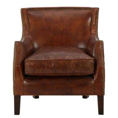 Awesome Chair Brown Leather Accent Chairs Onthecornerstone Fun Painted Chair Ideas Images Onthecornerstoneorg