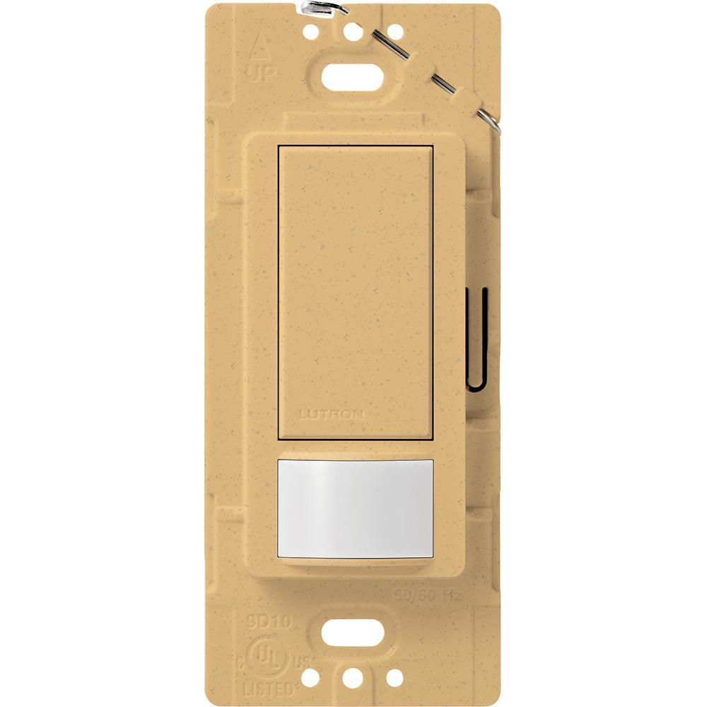 Lutron Maestro Motion Sensor switch, 2-Amp, Single-Pole, Goldstone