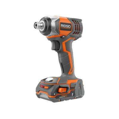 X4 Reconditioned 18-Volt Lithium-Ion 1/4 in. Cordless Impact Driver Kit