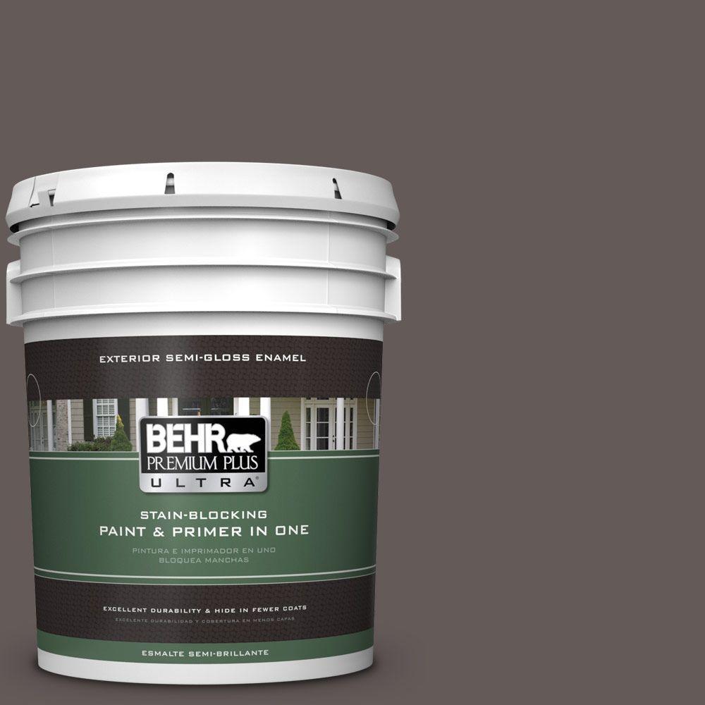 5-gal. #BXC-71 Wood Acres Semi-Gloss Enamel Exterior Paint