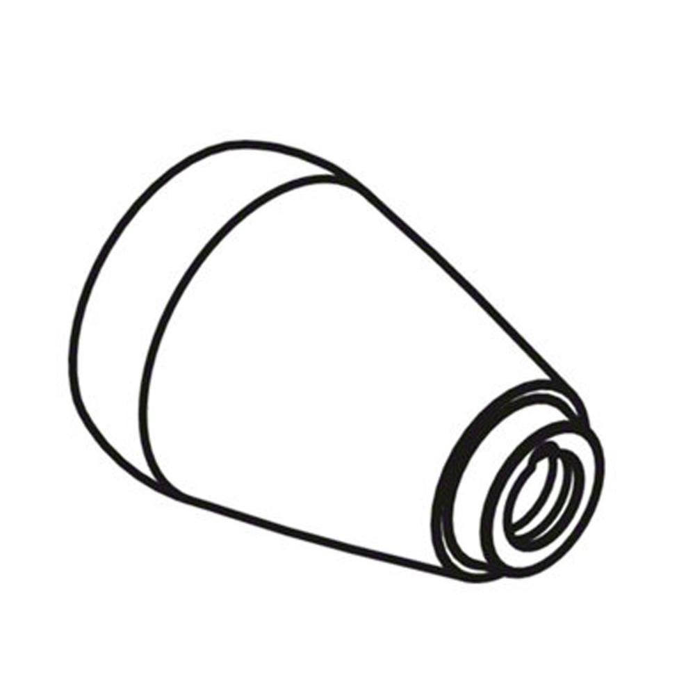 Bonnet Handle, Brushed Nickel