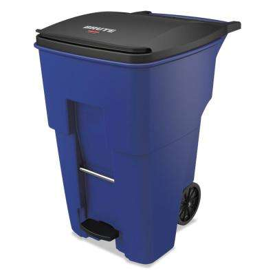 Brute Step-On Rollouts, Square, 95 Gal., Blue