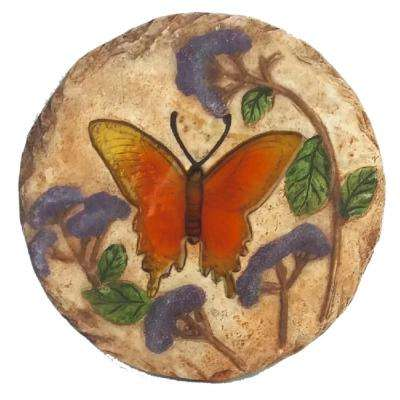 10.75 in. Dia Butterfly Stepping Stone