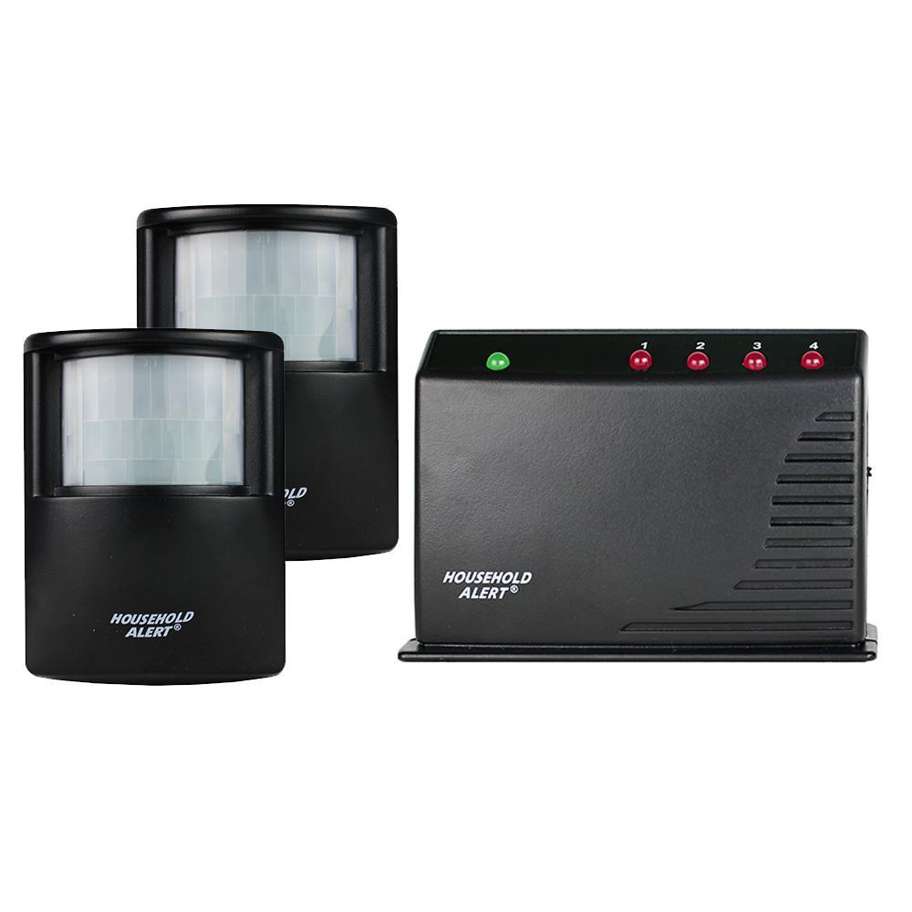 Wireless Deluxe Motion Indoor Outdoor Long Range Household Alert and Alarm System