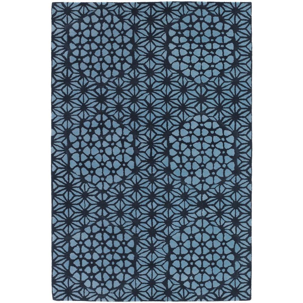 Parson Light Blue 5 ft. x 7 ft. 6 in. Indoor Area Rug