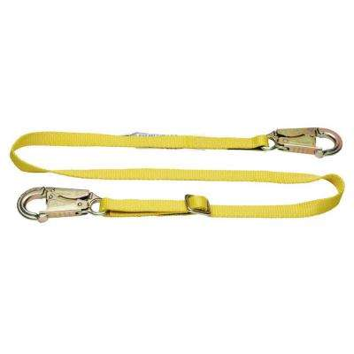 Upgear 6 ft. Web Positioning Adjustable Lanyard (1 in. Web, Snap Hook)