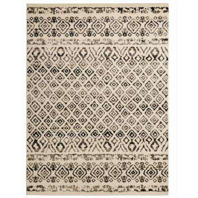 Tribal Essence Ivory 7 ft. 10 in. x 9 ft. 10 in. Area Rug