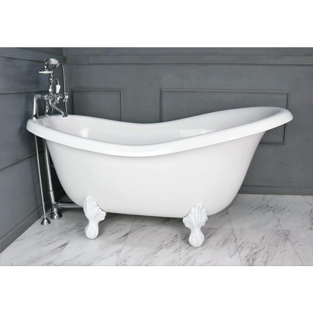 American Bath Factory 60 In Acrastone Acrylic Slipper