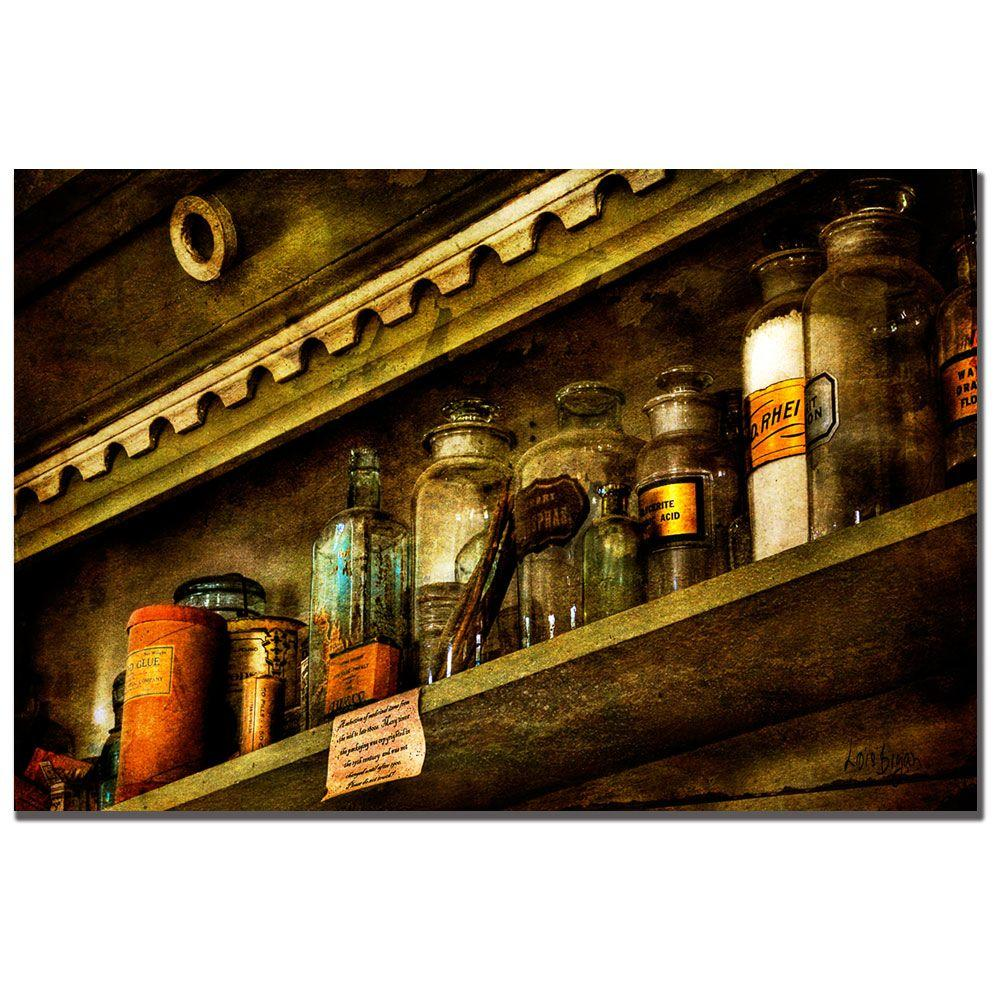 Trademark Fine Art 24 in. x 16 in. The Olde Apothecary Shop Canvas Art