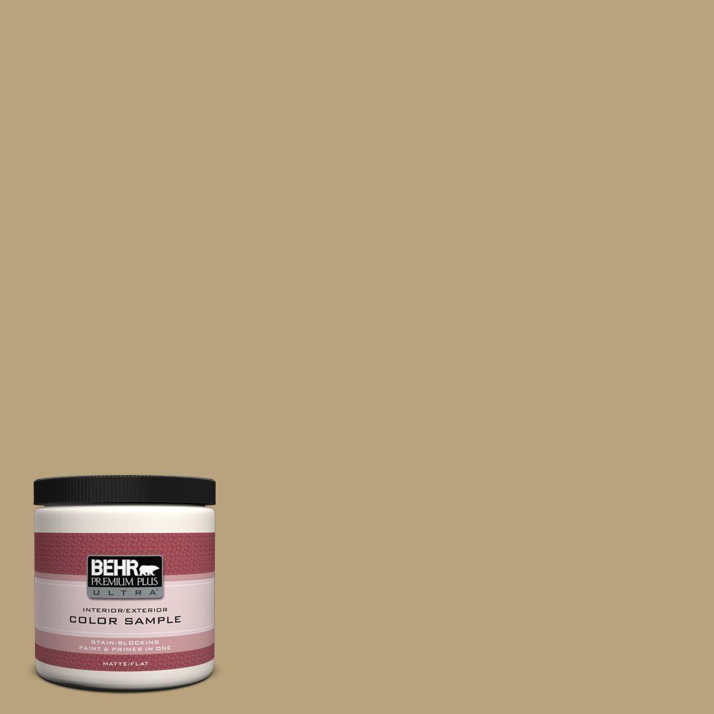 BEHR Premium Plus Ultra 8 oz. #T13-4 Golden Age Interior/Exterior Paint Sample