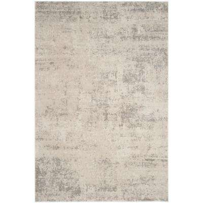 Princeton Beige/Gray 8 ft. x 10 ft. Area Rug