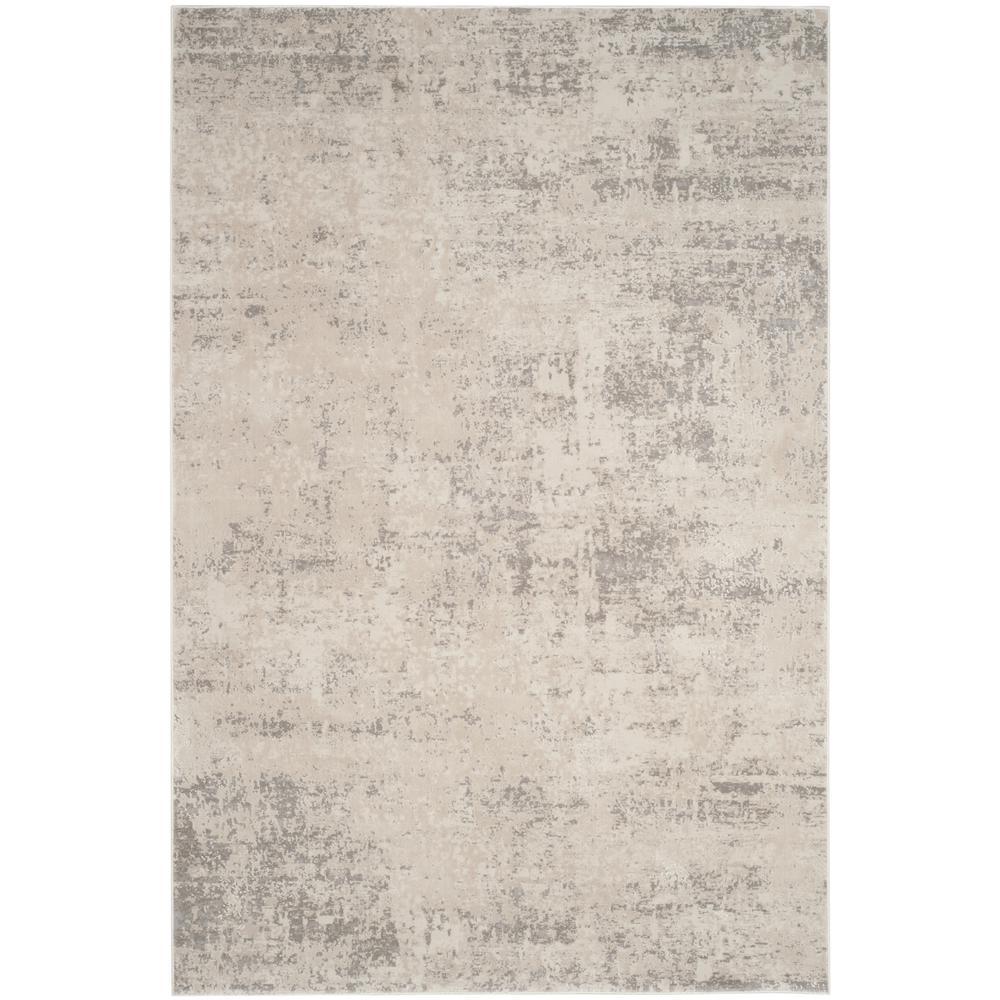 Princeton Beige/Gray 8 ft. x 10 ft. Area Rug